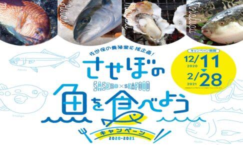 させぼの魚を食べようキャンペーンアイキャッチ
