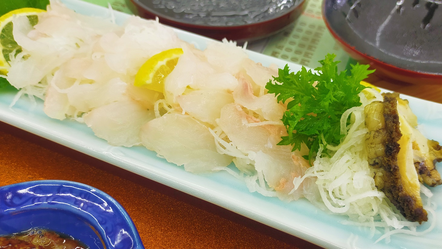 海鮮めし処あまちゃん ひらめ定食