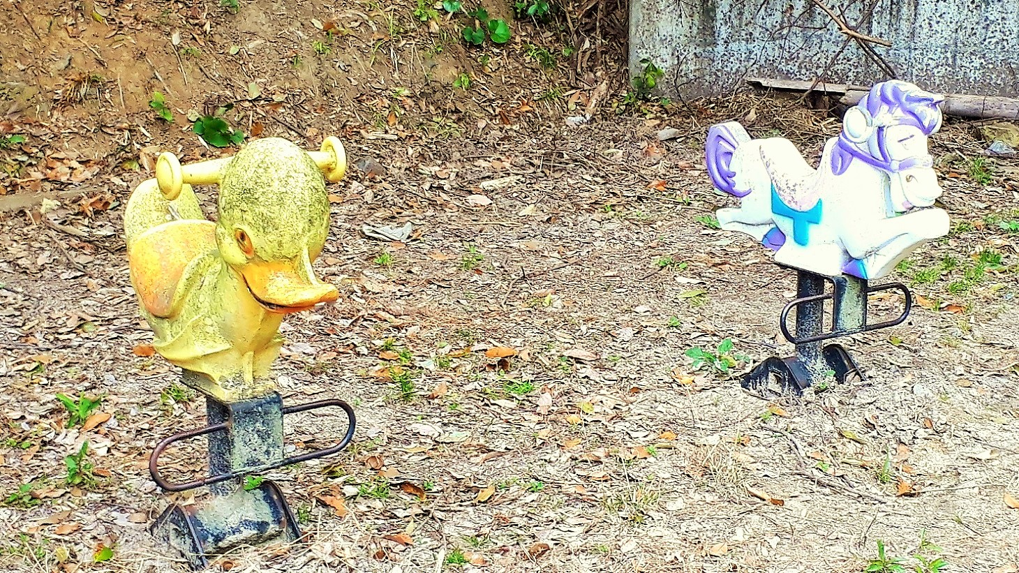 桜木やまんた公園 スイング遊具