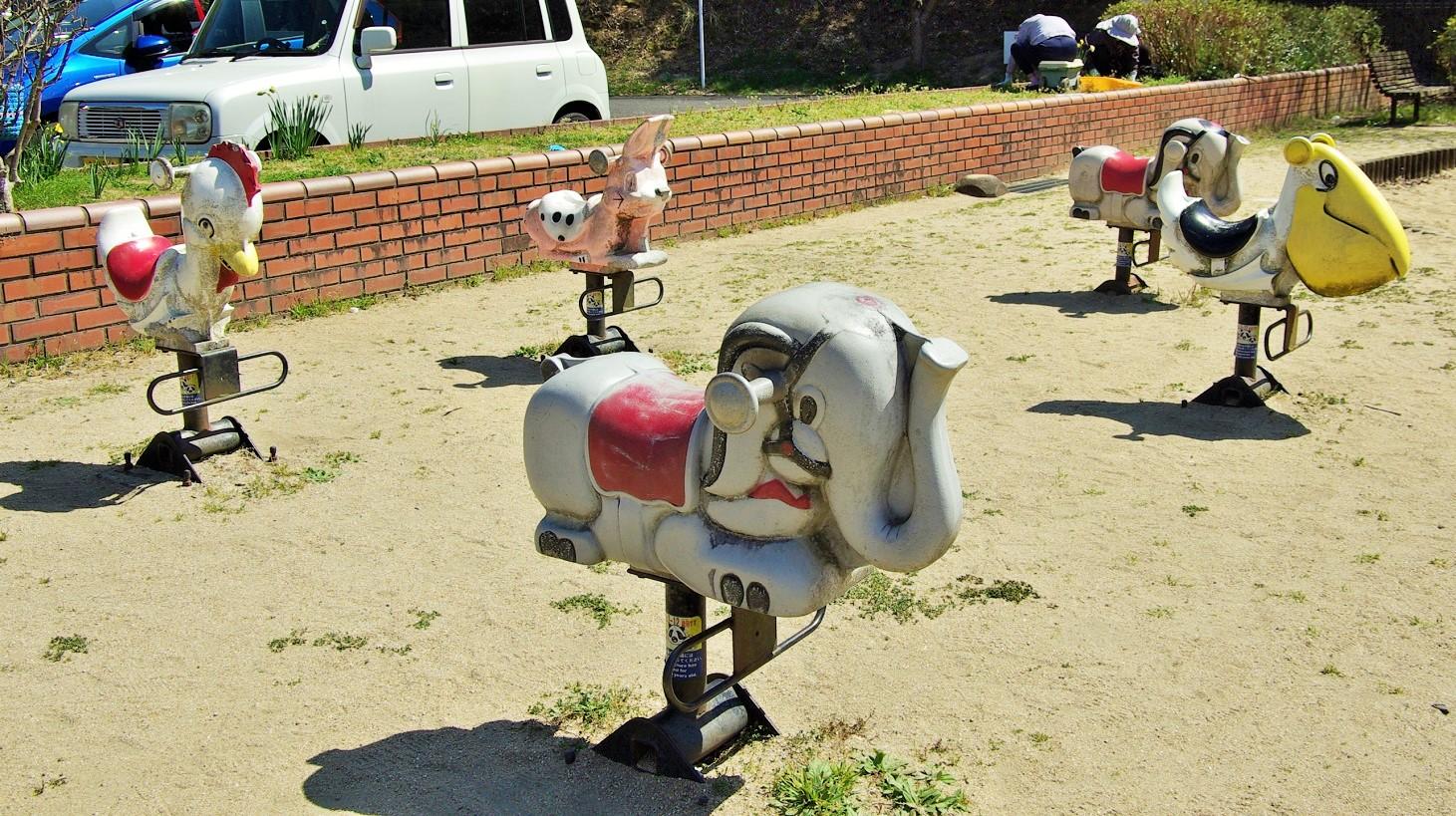 三川内中央運藤公園 スイング遊具