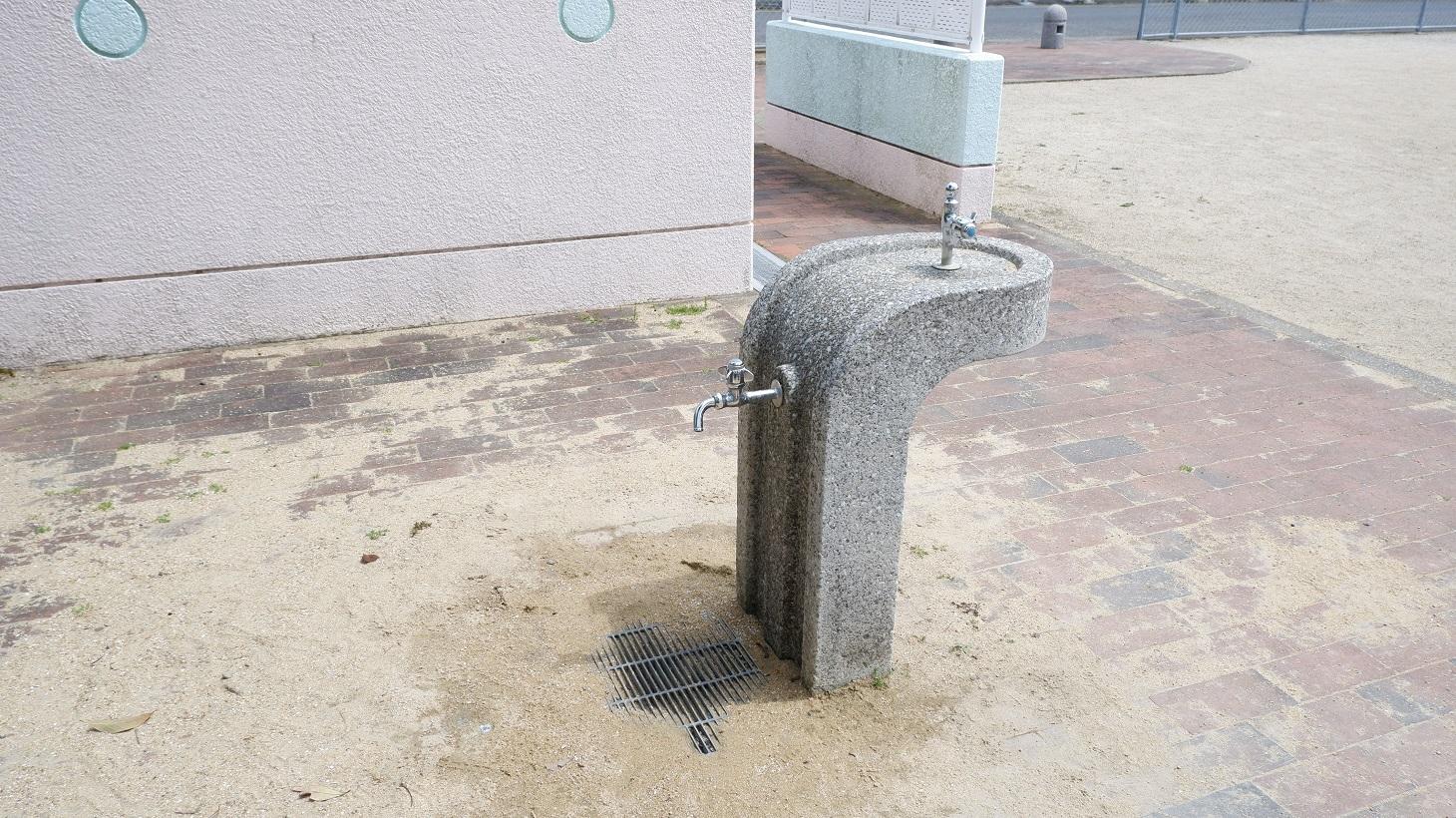 権常寺公園 水道