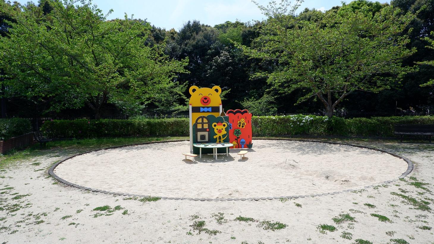 三川内運動公園 砂場