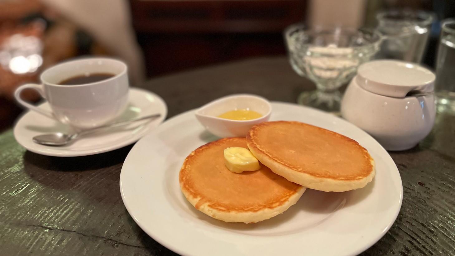 珈琲貿易 パンケーキ